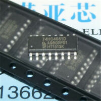 SO-16 Qty.10 Nexperia Philips 74HC4051D 8-CH Analog Multiplexer//Demux