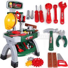 Kids Children DIY Workshop Workbench Handyman Tools Toy Set Pretend Play