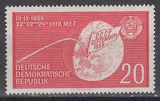 DDR East Germany 1959 ** Mi.721 Weltraum Space Lunik 2 Mond Moon