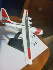 Six Inch Die Cast Aircraft Model 1720 Coast Guard US CG. Broken Tail Wing.
