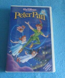 Peter Pan, Walt Disneys Meisterwerke, VHS, PAL 0245/25