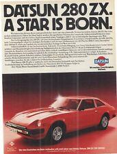 DATSUN 280 ZX alte Annonce - vintage advert - historische  Reklame - Werbeseite