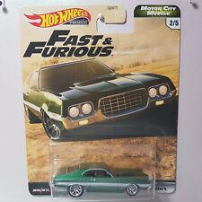 Hot Wheels Premium Motor City Muscle 1972 Ford Gran Torino Sport