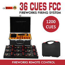 36 Cues Fireworks Firing Remote Control System Stage Digital Wireless Wedding