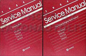 1984 Chrysler RWD Shop Manual Set Fifth Avenue Executive Newport 5th Ave Service