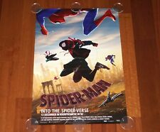 ORIGINAL MOVIE POSTER SPIDER-MAN INTO THE SPIDER-VERSE 2018 UNFOLDED DUTCH DS