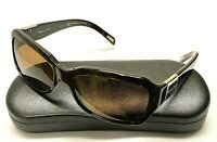 RALPH LAUREN RA5049 Brown Plastic Rectangular Polarized Sunglasses