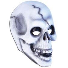 Death Skeleton Skull Latex Overhead Horror Face Mask Halloween Fancy Dress P6849