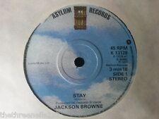 "VINYL 7"" SINGLE - STAY - JACKSON BROWNE - K13128"