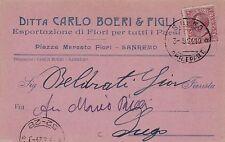 # SAN REMO: testatina- DITTA CARLO BOERI & FIGLI- ESPORTAZ. FIORI