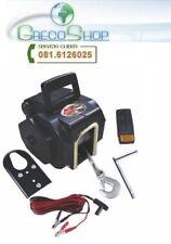 Tira barca/Argano/Paranco elettrico 12V 3500 lbs con telecomando wireless