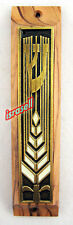 OLIVE WOOD MEZUZAH CASE WITH NON KOSHER SHEMA YISRAEL SCROLL - Made in Israel