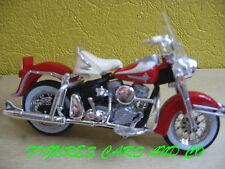 MOTO 1/18  HARLEY DAVIDSON FLH DUO GLIDE 1962  PAN HEAD