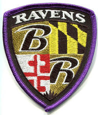 SUPERBOWL XLVII SUPER BOWL 47 BALTIMORE RAVENS TEAM INSIGNIA JERSEY PATCH