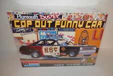 Monogram 1:24 Tom Daniel Plymouth Duster Cop Out Funny Car #85-4093 NIB