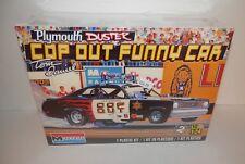 Monogram 1:24 Tom Daniel Plymouth Duster Cop Out Funny Car #85-4093 NIB