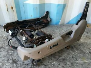 97-99 Acura 2.3 CL Driver Left Front Seat Electric Power Track Complete Tan