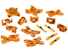 T5025ORANGE Integy Billet Machined Suspension Set Package for HPI Savage XS Flux