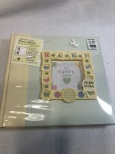 New Seasons TALKING PICTURES Baby Album **NEW** With Tags