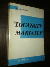 LOUANGES MARIALES - Agnès Richomme 1958
