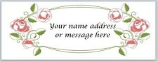 Personalized address labels Flowers Buy 3 get 1 free (xbo 436)