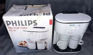 Philips HD 7105 Tea For Two Teasmade Tea Maker- Boxed- Working
