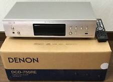 DENON CD Player 192kHz / 32bit DAC Premium Silver DCD-755RESP F/S w/Tracking#