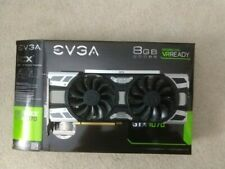 WARRANTY EVGA NVIDIA GeForce GTX 1070 SC2 Gaming Video Card 8GB 08G-P4-6573-KR