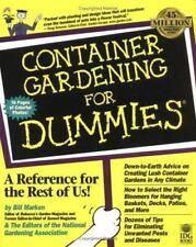 """""""Container Gardening for Dummies by Marken, Bill """""""