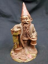 "Tom Clark Gnome ""Father Time"" Edition 64 Signed 1984 Coa Included"