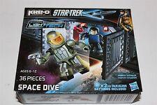 Kre-o Star Trek Space Drive Building Set A3138 Hasbro Light Tech