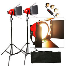 RHKIT2 1600W Video Studio Continuous Red Head Light 800w DIMMER built in 2 SETS