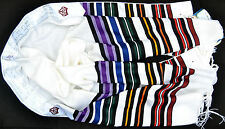 "Kosher Tallit Prayer Shawl 100%Wool 55X74""/140x190cm ""Bney Or"" 7stripes Colorful"