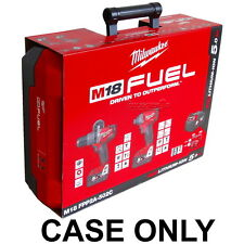 MILWAUKEE FUEL M18FPD-0 M18FID-0 DRILL IMPACT NEXT GEN II 2 TOOL AU CASE ONLY