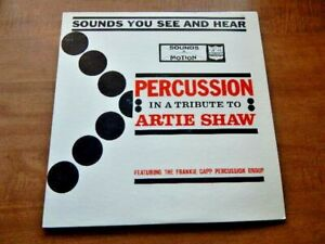 LP-FRANKIE CAPP PERCUSSION GROUP-Tribute to Artie Shaw-1960's Tommy Tedesco