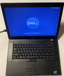 "Dell Latitude E6500 15"" Core 2 P8600@2.4GHz 160GBHD-4GBram Windows 7 Ent bat/chr"