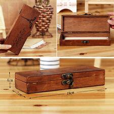 Eiffel Tower Wood Stash Box - Discreet Storage & Vape Mod Holder Pen Pencil Case