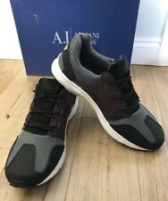 Armani Jeans Lightweight Sneakers Trainers Shoes UK 8 EU 42 Retro Style New