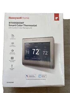 Honeywell Home RTH9585WF smart color thermostat termostato de color inteligente