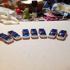 VINTAGE AFX TOMY SLOT CAR BODY GROUP / #33 NISSAN AFX RACING / RED WHITE BLUE!!!