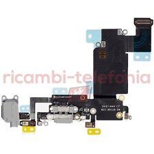 flat carica per Apple iPhone 6s Plus nero connettore ricarica audio jack 3,5