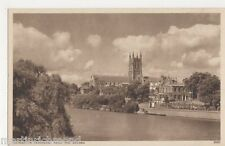 Worcester Cathedral from The Severn Postcard, B484