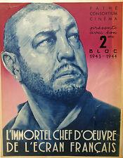 LES MISERABLES -1934 - PATHE C.C. - R.BERNARD - V.HUGO - H.BAUR + 2 PHOTOS