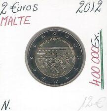 2 Euros - MALTE - 2012 // Qualité: Neuve (400 000 Ex)
