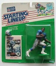 1988 ROOKIE STARTING LINEUP - SLU - NFL - JAMES JONES - DETROIT LIONS