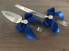 Free Personalized Wedding Cake Server Set including Wedding Cake Knife