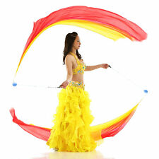 Light Up Poi Ball Thrown Balls RGB LED Glow for Rave Belly Dancer Hand Prop Tool