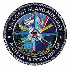 Portland Oregon Auxiliary Flotilla 76 W5535 USCG Coast Guard patch