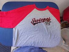 Albuquerque Isotopes T-Shirt 1/2 Sleeve Adult 2XL Minor League Baseball team NM