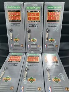 🏀 RARE Michael Jordan 91/92 Upper Deck Locker Series Set x 6 Factory Sealed Box
